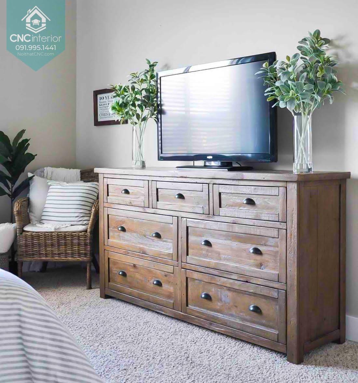 Tủ ngăn kéo gỗ đựng quần áo 11