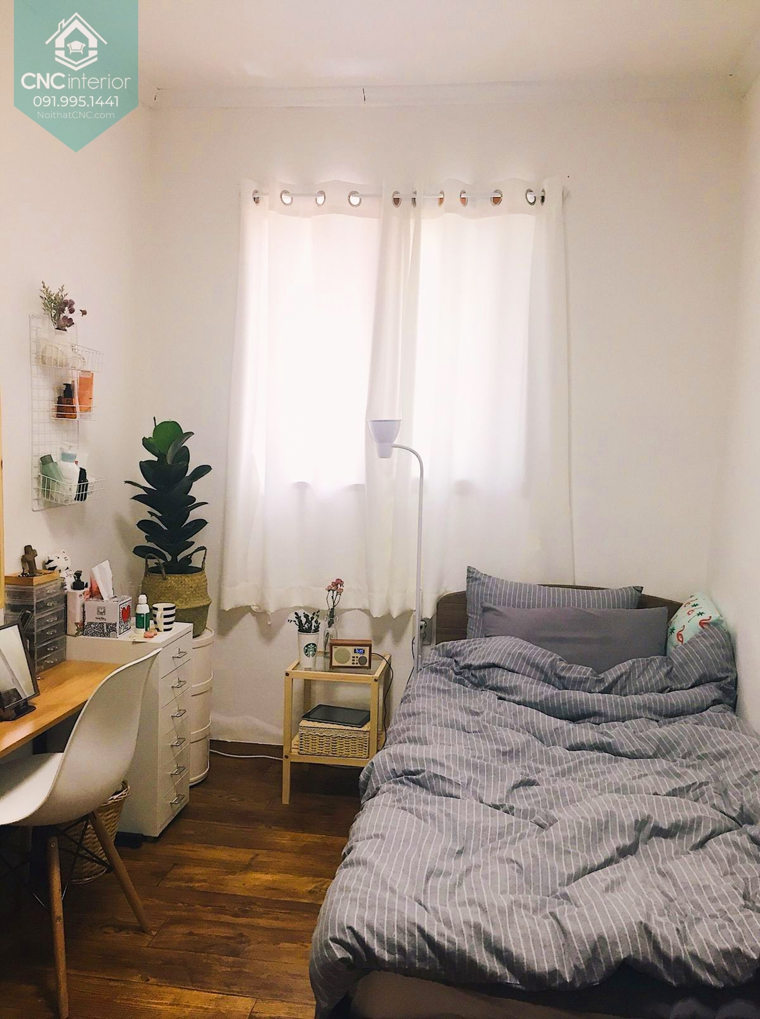 Bố trí phòng ngủ nhỏ 9m2 13