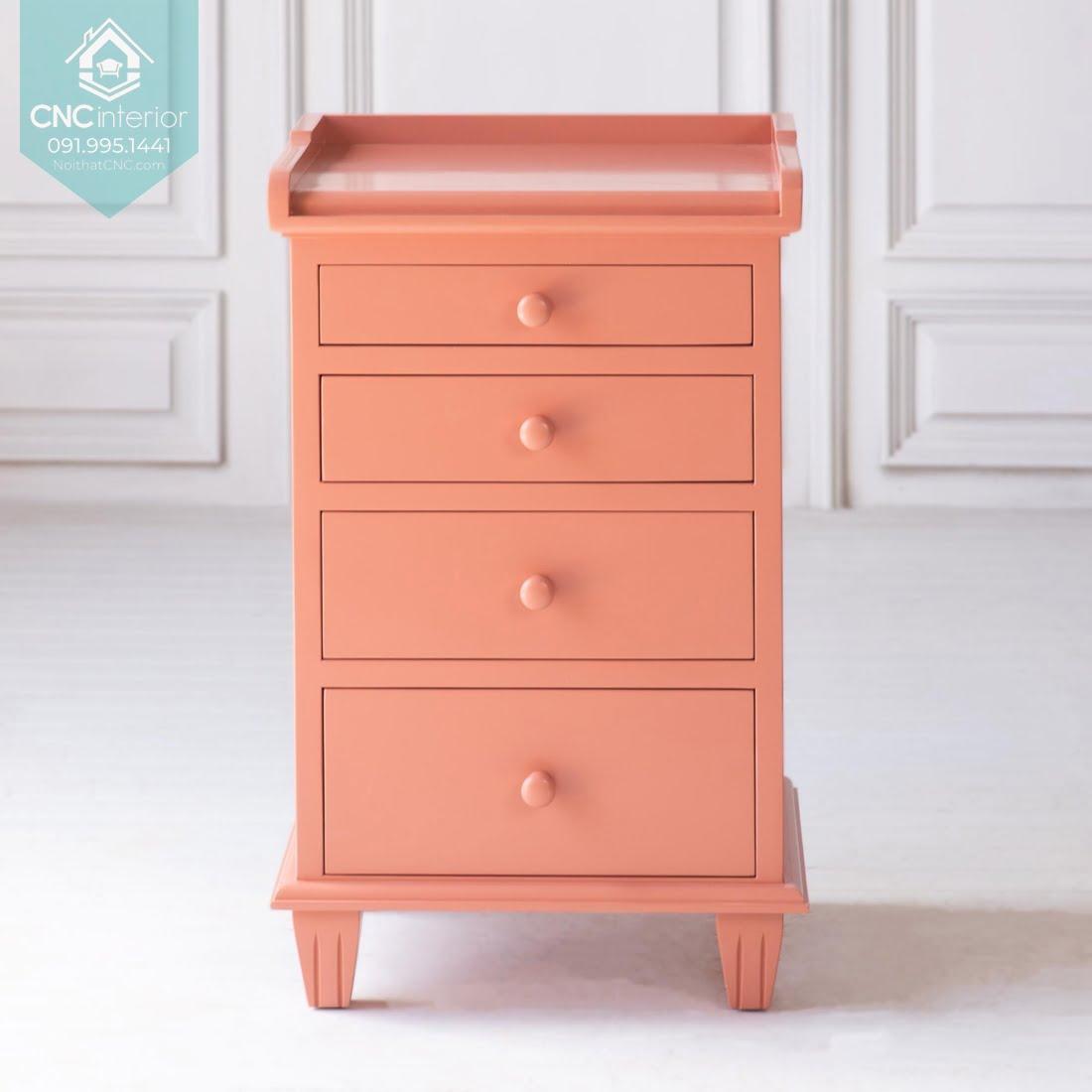 Tủ ngăn kéo gỗ đựng quần áo 14