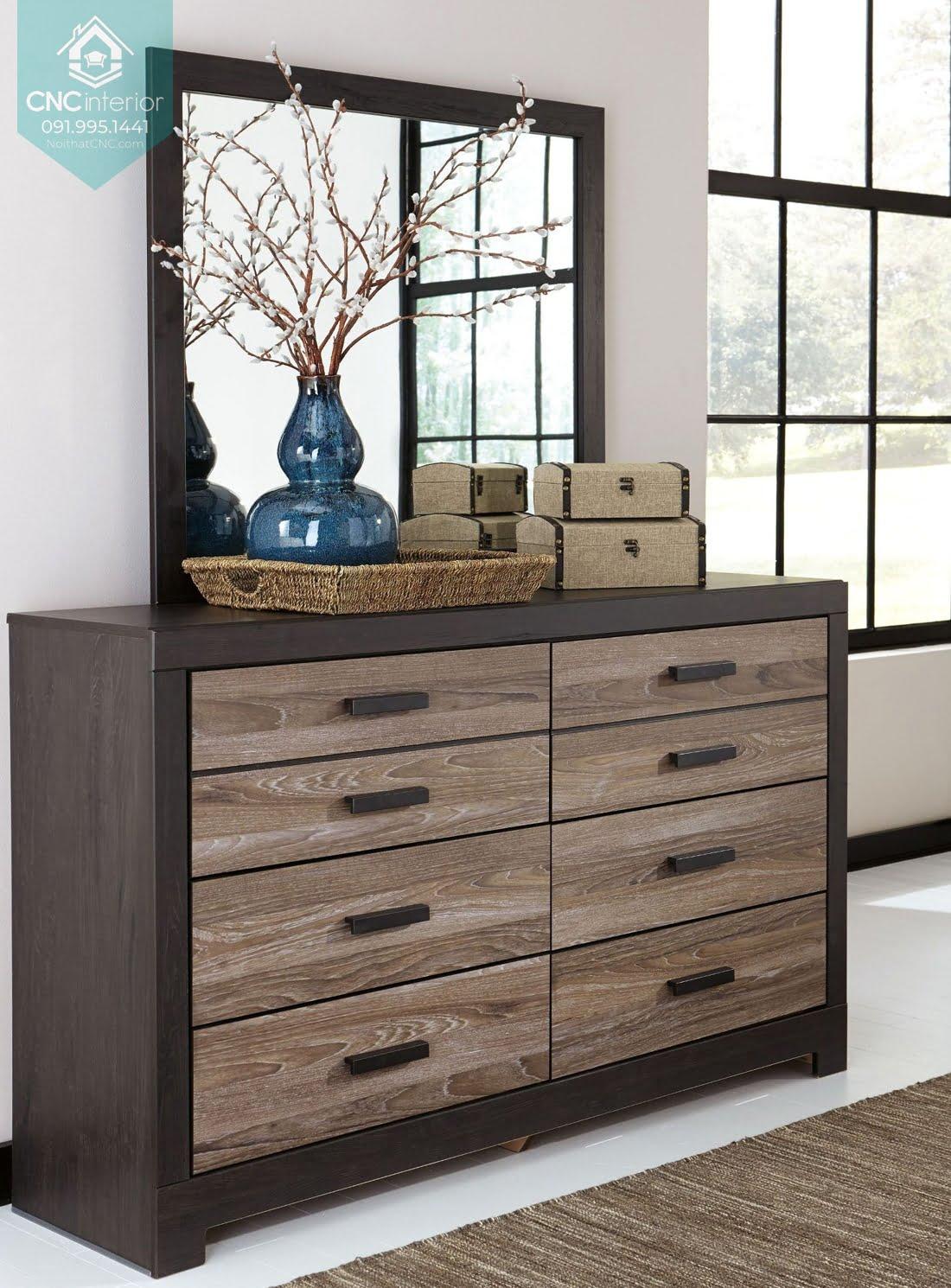 Tủ ngăn kéo gỗ đựng quần áo 15