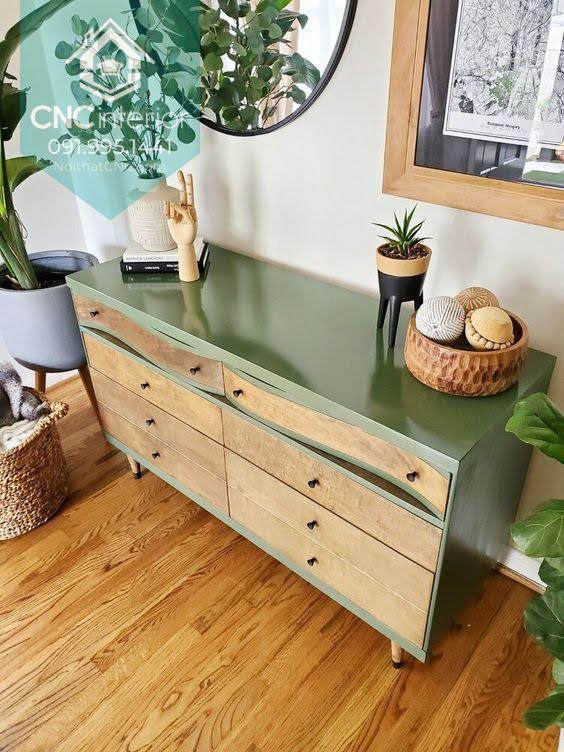 Tủ ngăn kéo gỗ đựng quần áo 17