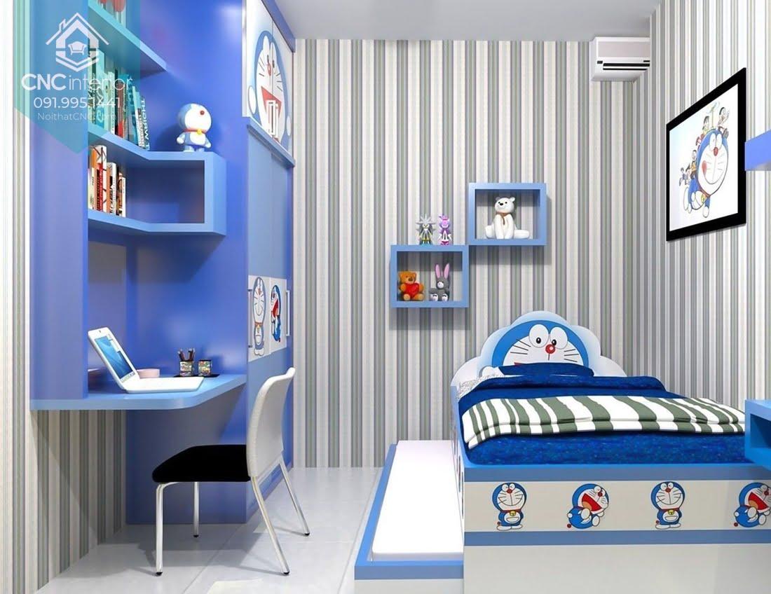 Cách bố trí phòng ngủ 12m2 19
