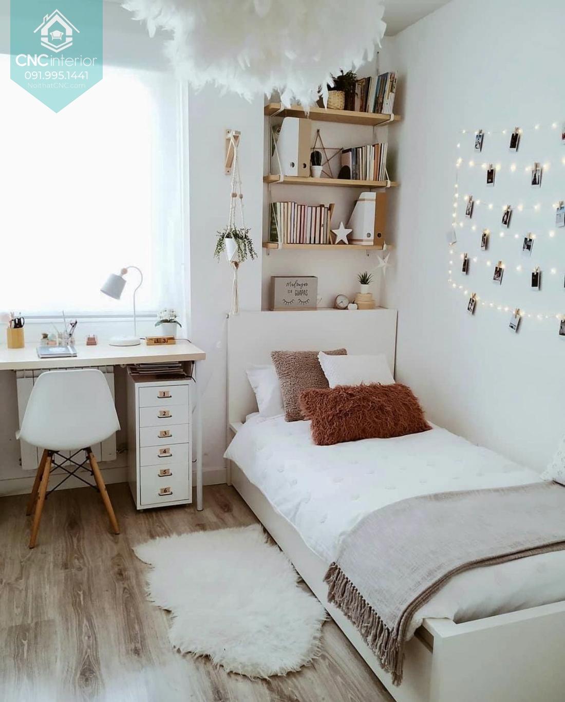 Bố trí phòng ngủ nhỏ 9m2 2