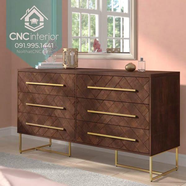 Tủ ngăn kéo gỗ đựng quần áo 2
