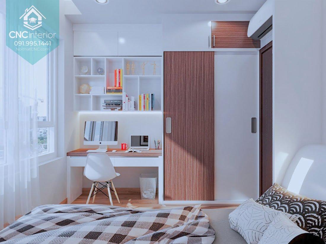 Cách bố trí phòng ngủ 12m2 3