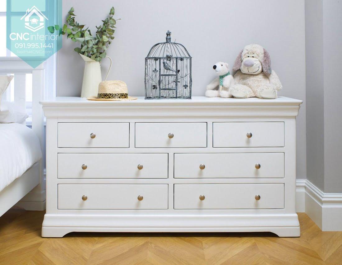 Tủ ngăn kéo gỗ đựng quần áo 3