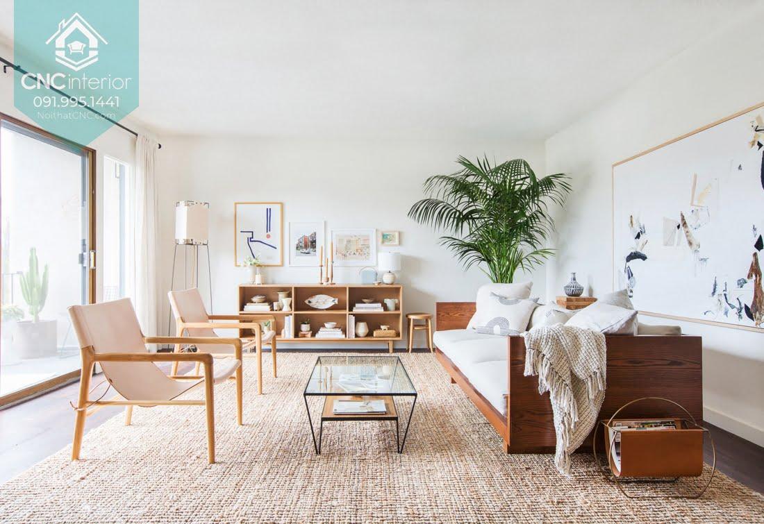 Phòng khách phong cách Scandinavian 3