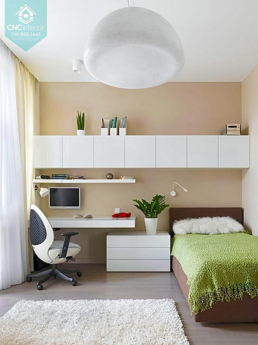 Cách bố trí phòng ngủ 12m2 4