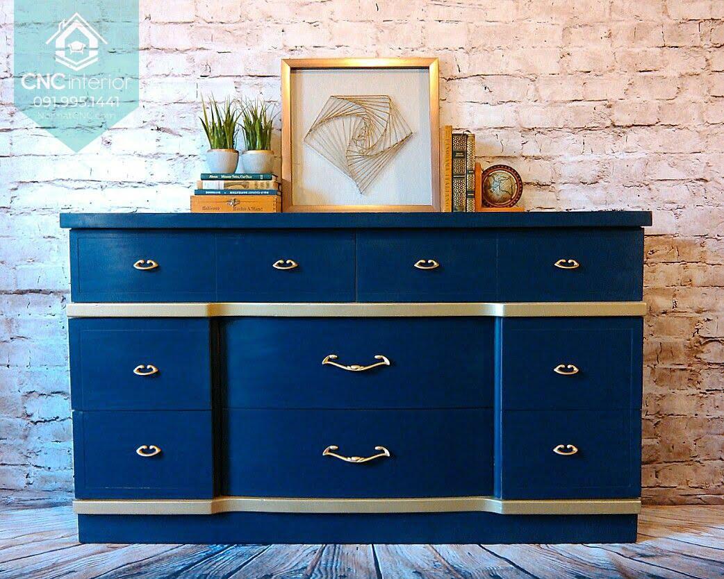 Tủ ngăn kéo gỗ đựng quần áo 4
