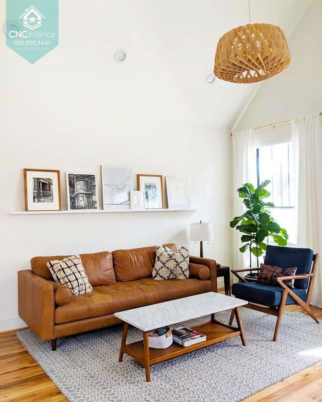 Phòng khách phong cách Scandinavian 4