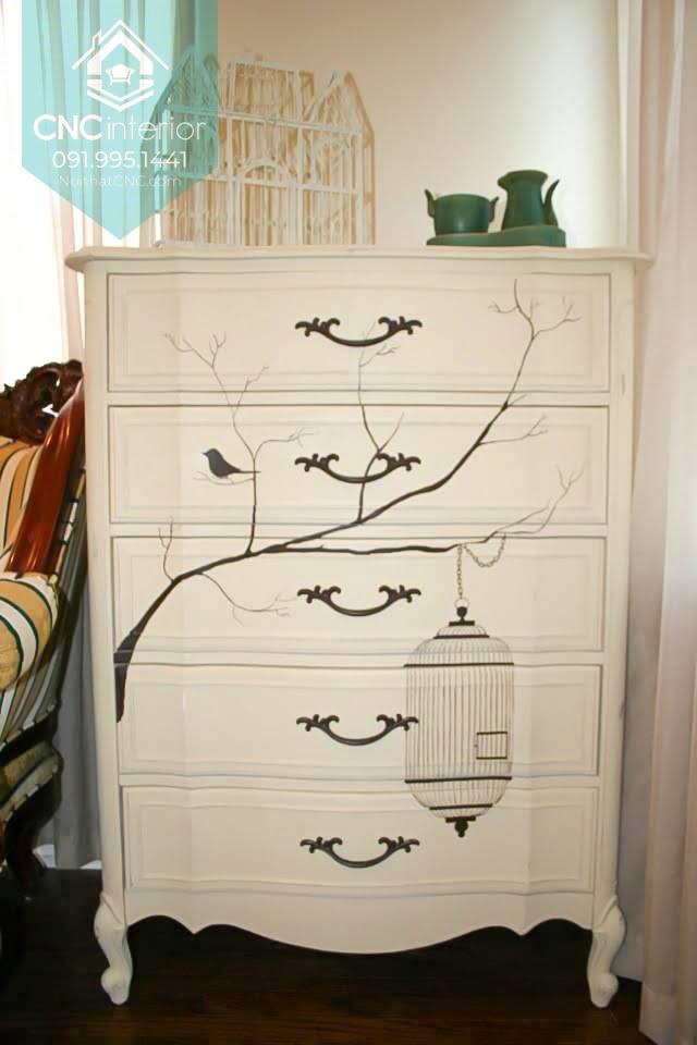Tủ ngăn kéo gỗ đựng quần áo 7