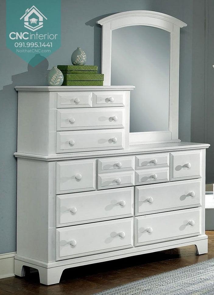 Tủ ngăn kéo gỗ đựng quần áo 8
