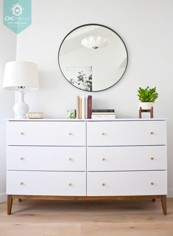 Tủ ngăn kéo gỗ đựng quần áo 9