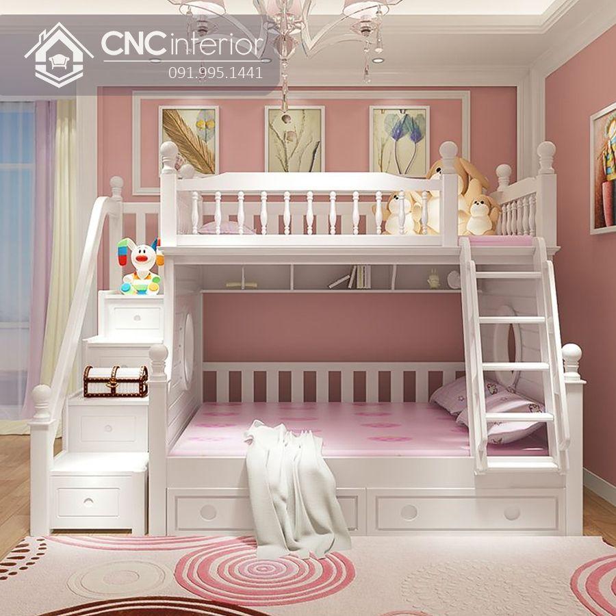 Giường ngủ 2 tầng cho bé gái (13)