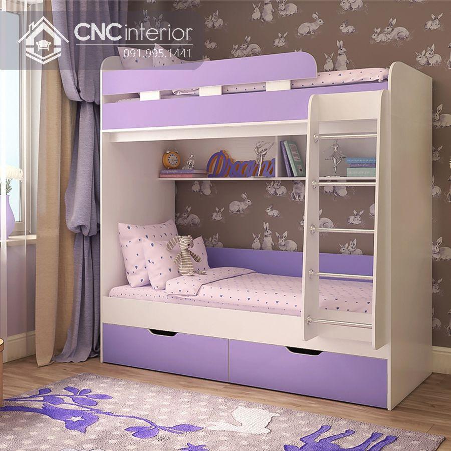 Giường ngủ 2 tầng cho bé gái (4)