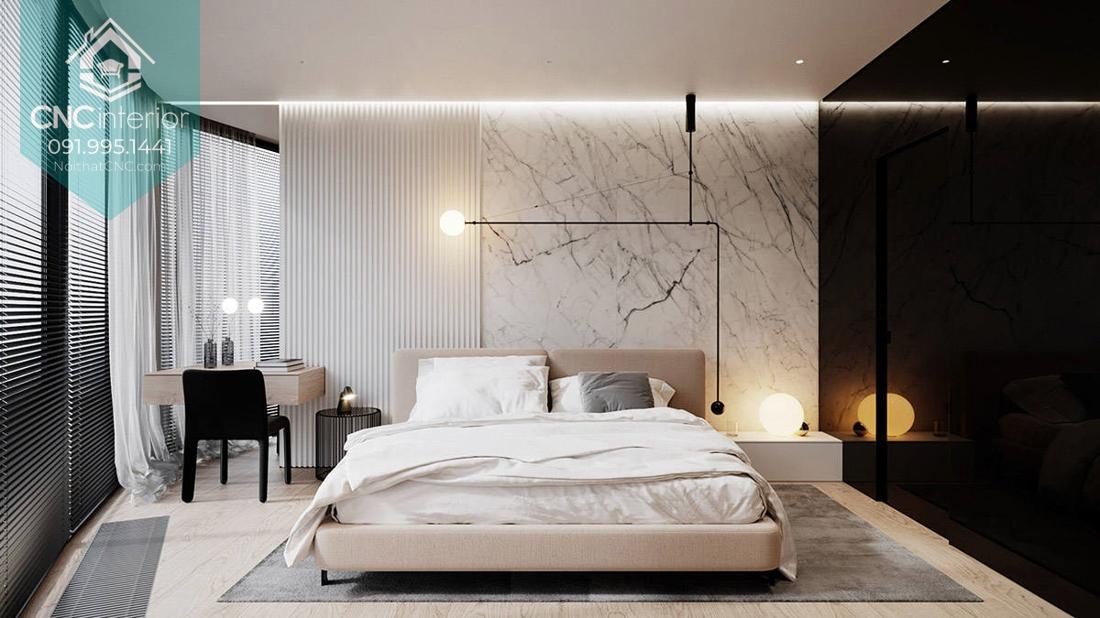 thiết kế căn hộ 100m2 3 phòng ngủ 10
