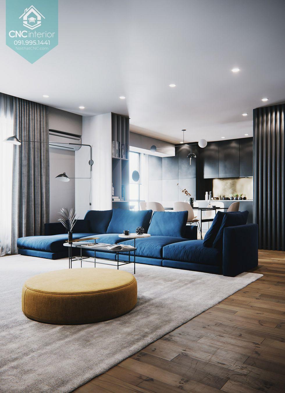 thiết kế căn hộ 100m2 3 phòng ngủ 4