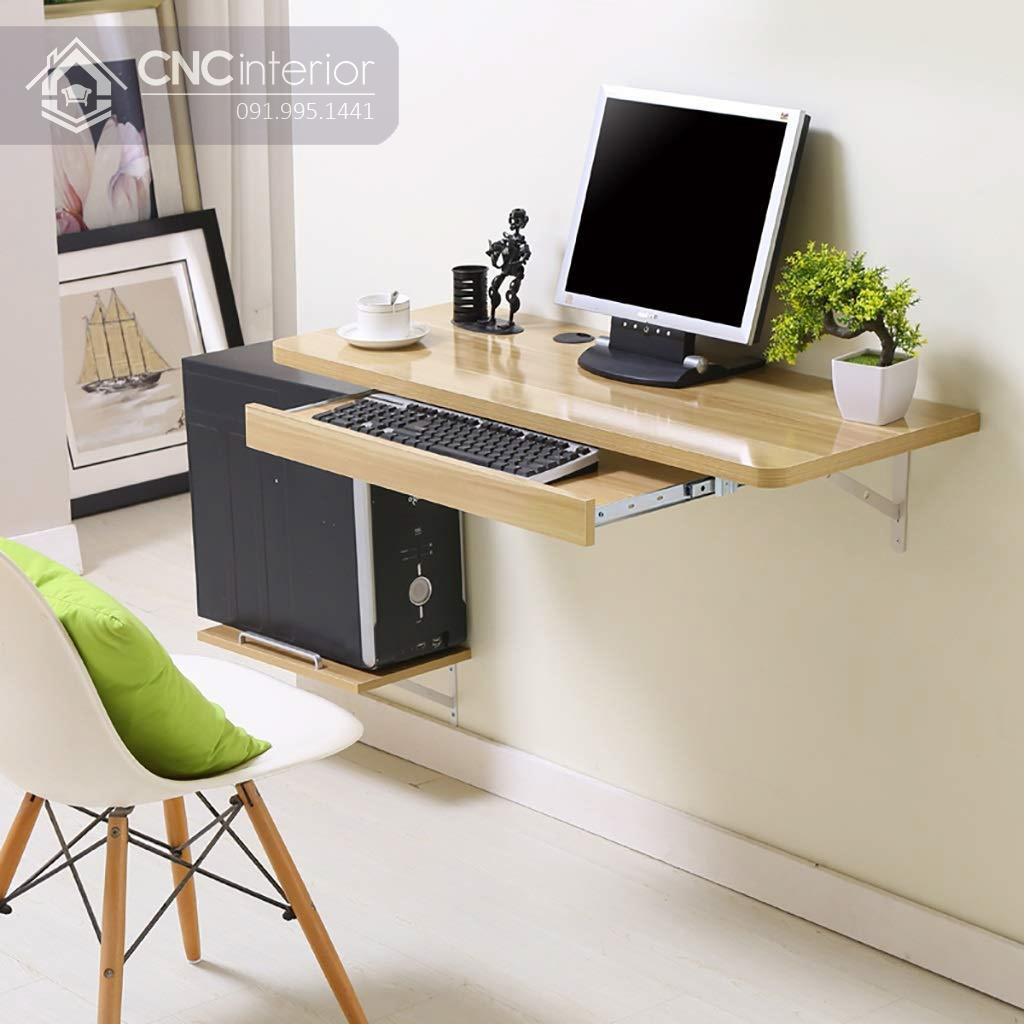 bàn máy tính gỗ tự nhiên 10