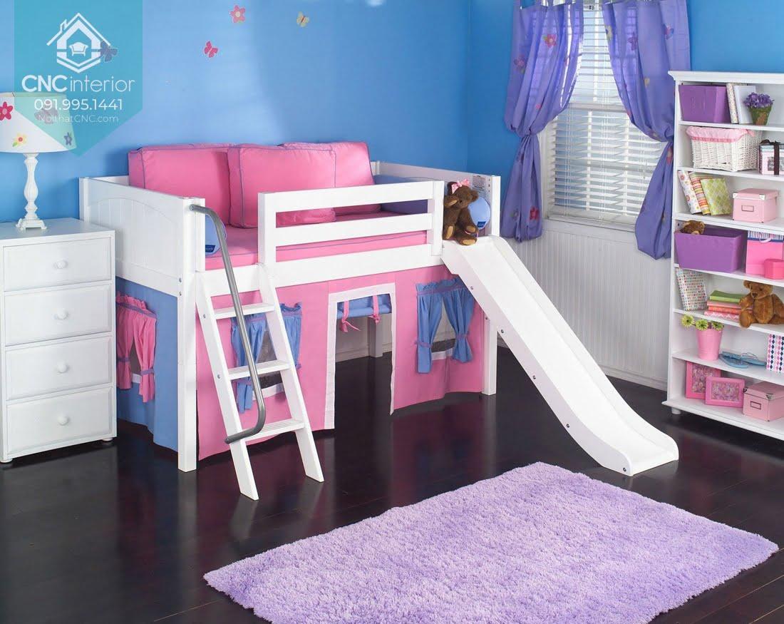 giường tầng có cầu trượt 6