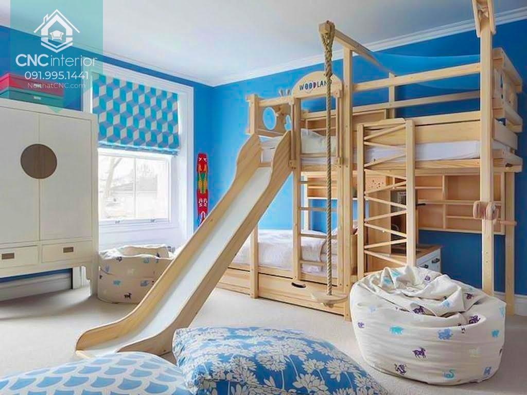 giường tầng có cầu trượt 5