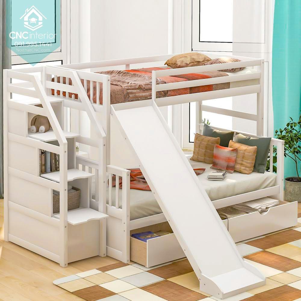 giường tầng có cầu trượt 11