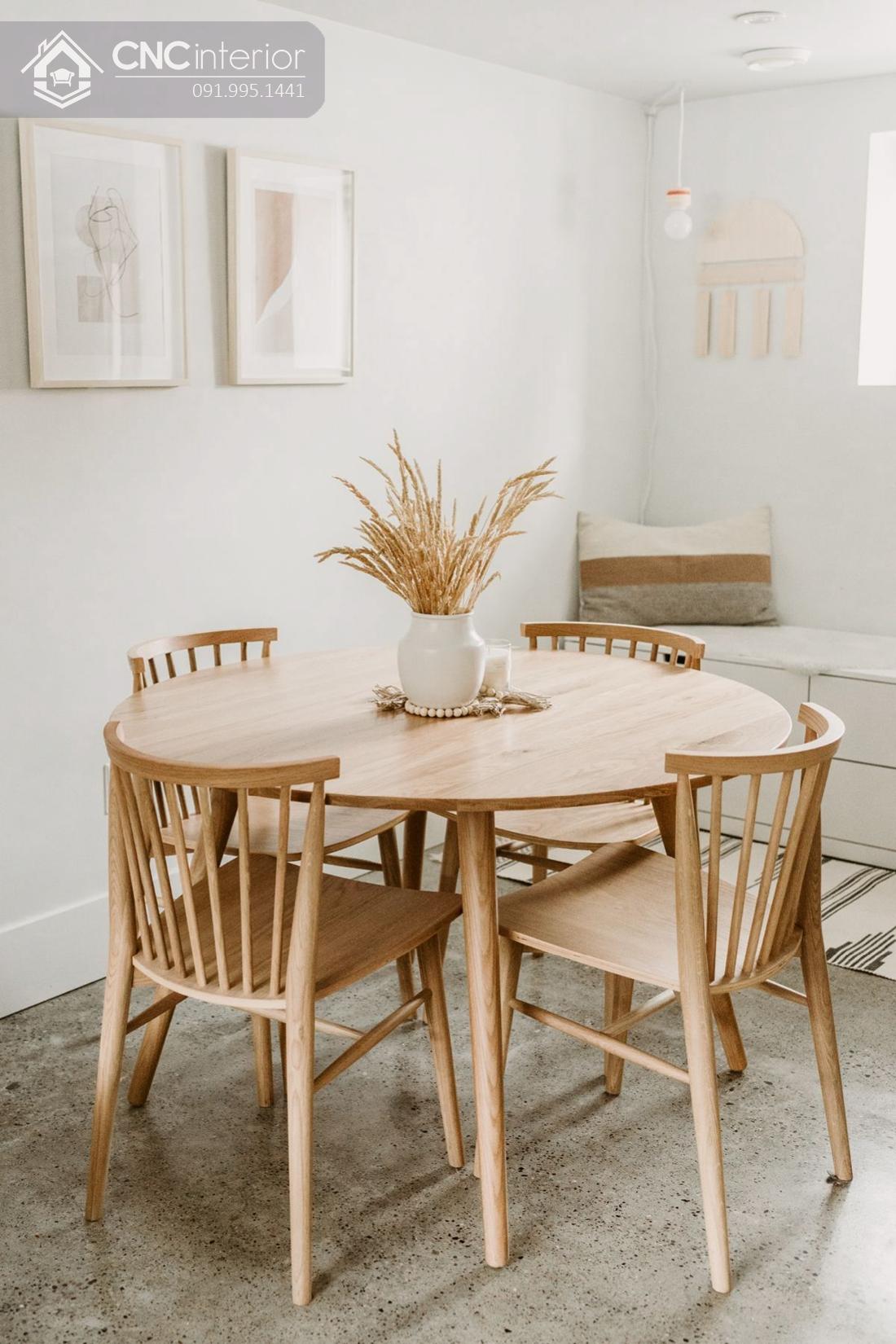 kích thước bàn ăn 4 người 5