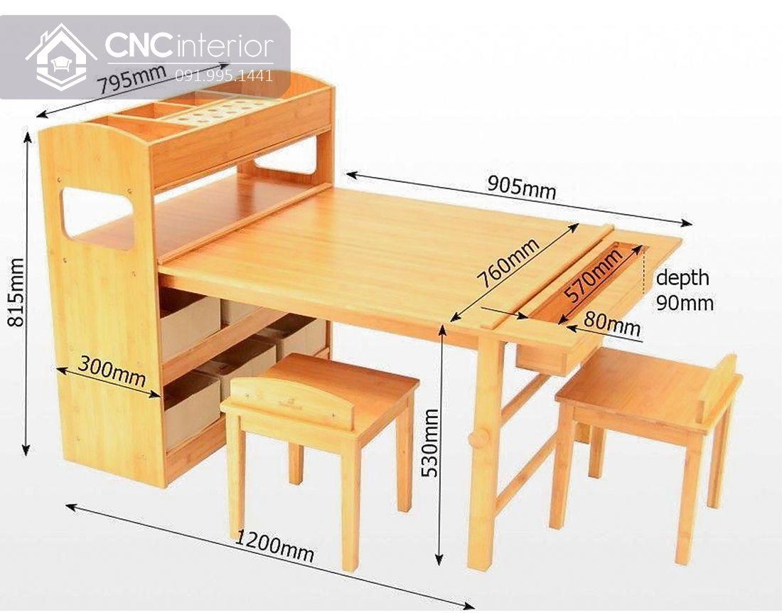 Kích thước bàn học sinh cấp 1 (5)