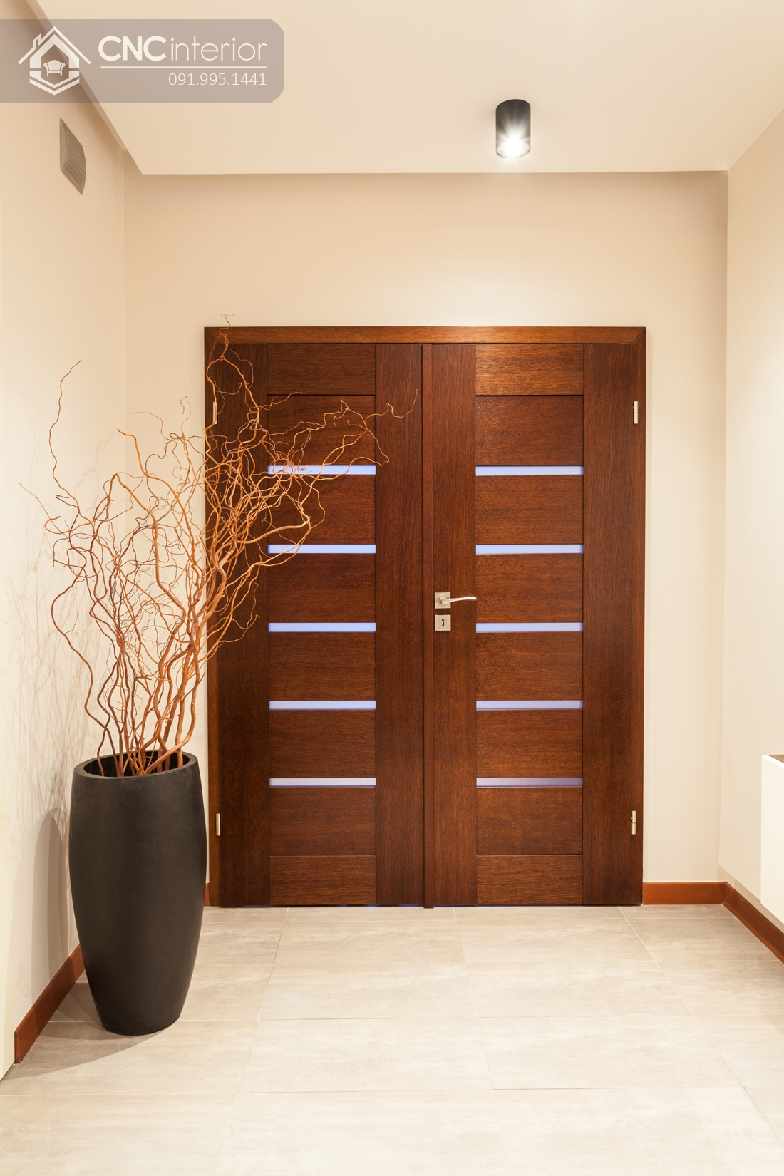 mẫu cửa gỗ 2 cánh lớn 5