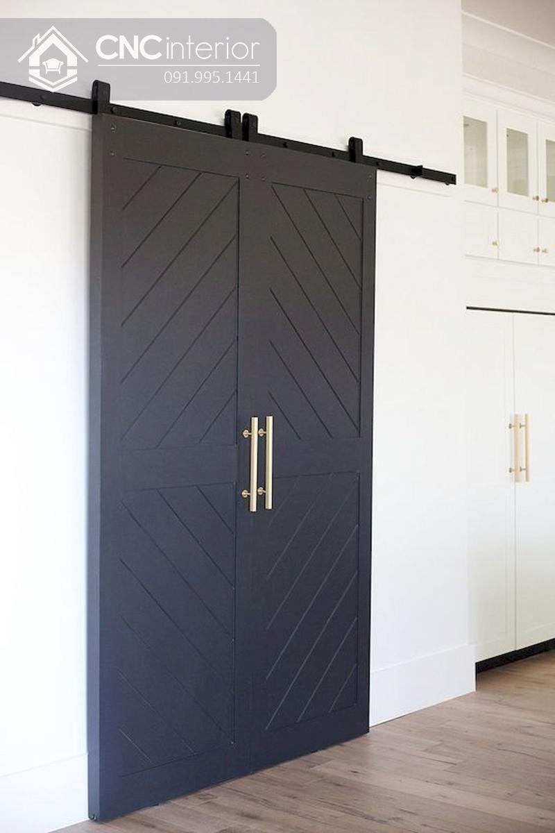 mẫu cửa phòng ngủ bằng gỗ đẹp 17