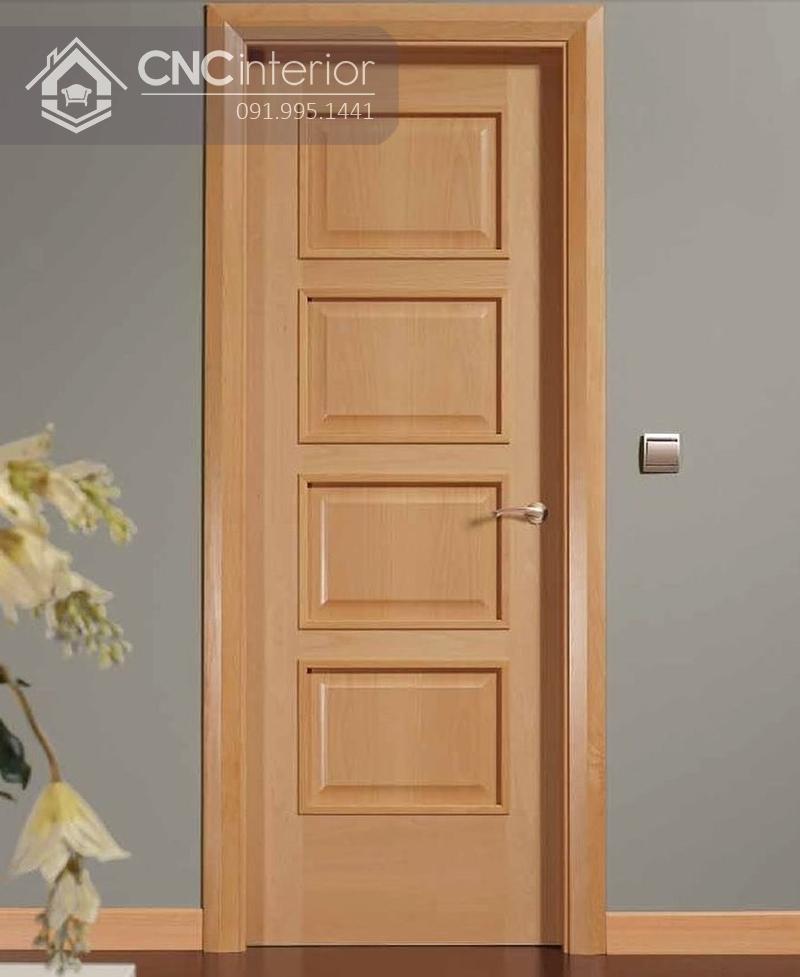 mẫu cửa phòng ngủ bằng gỗ đẹp 5