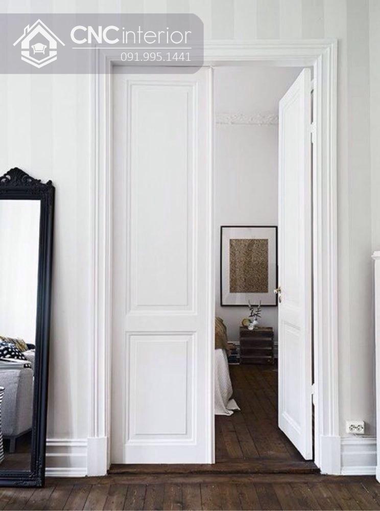 mẫu cửa phòng ngủ bằng gỗ đẹp 7