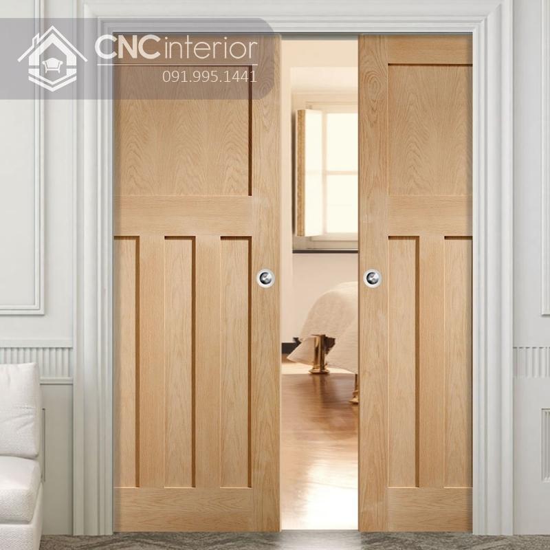 mẫu cửa phòng ngủ bằng gỗ đẹp 6