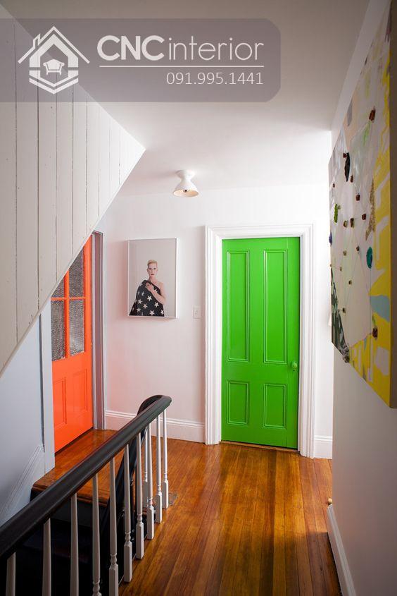 mẫu cửa phòng ngủ bằng gỗ đẹp 11