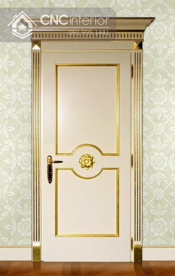 mẫu cửa phòng ngủ bằng gỗ đẹp 12