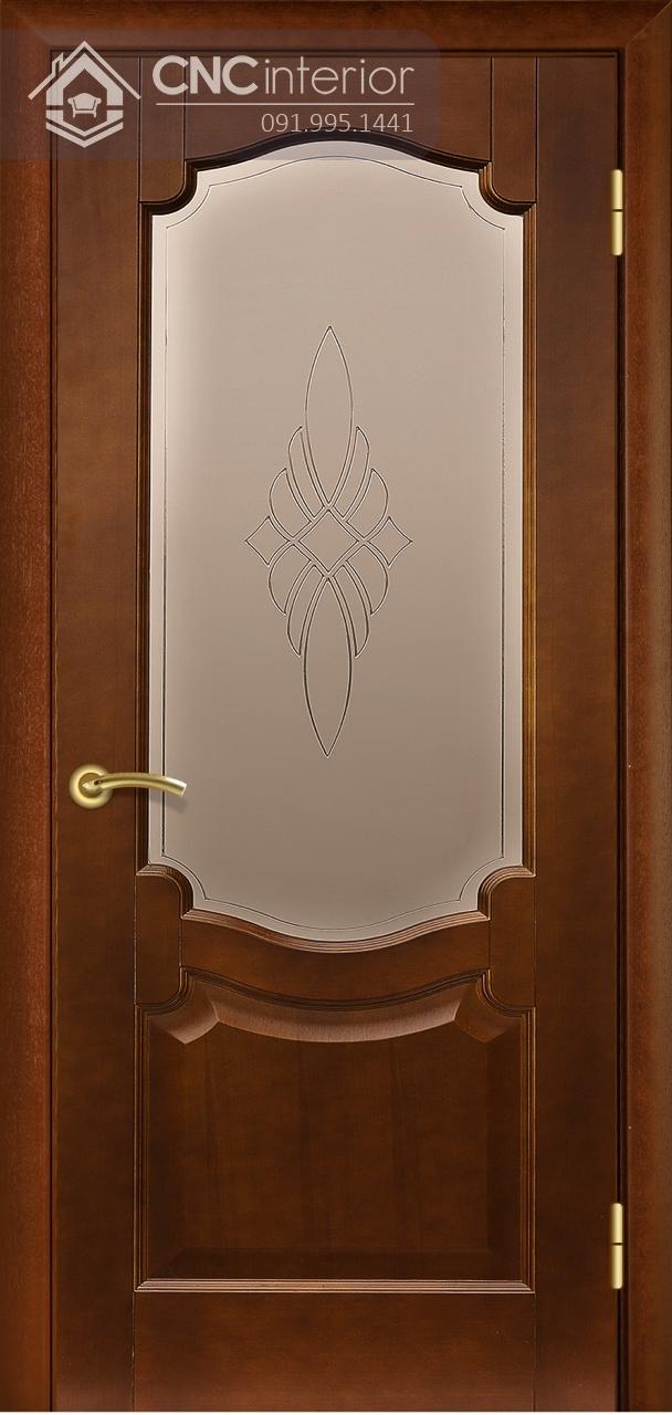 mẫu cửa phòng ngủ bằng gỗ đẹp 1