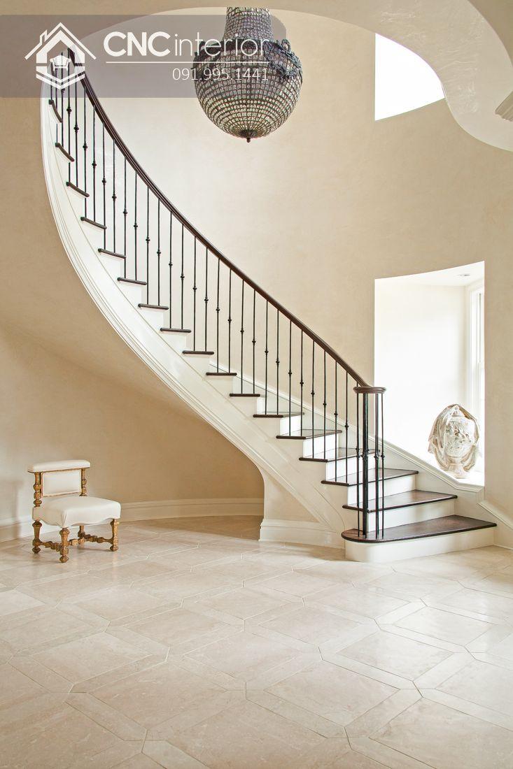 trang trí cầu thang phòng khách đẹp (3)