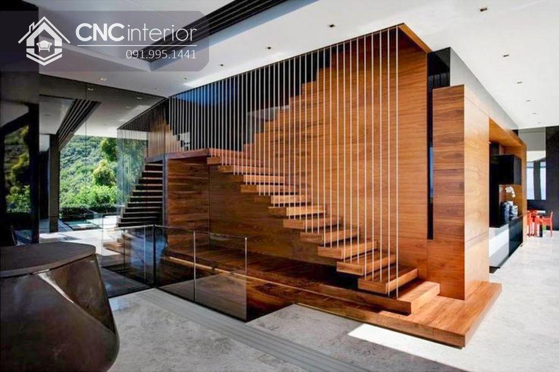 trang trí cầu thang phòng khách đẹp (4)