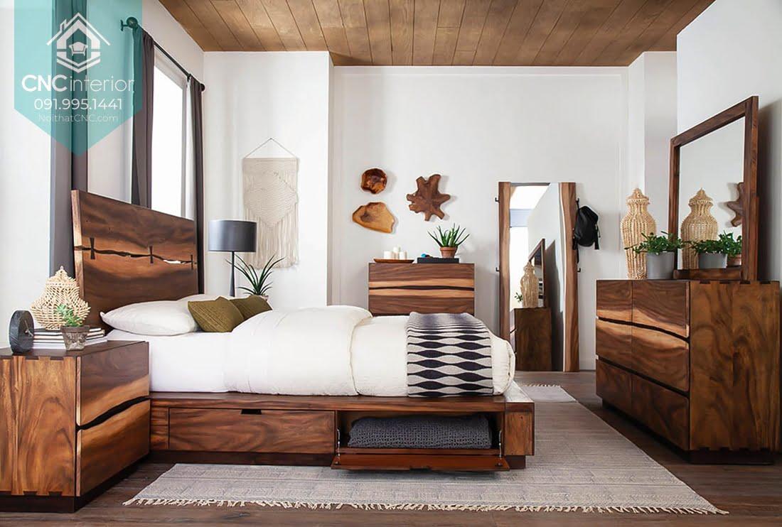 Phòng ngủ gỗ óc chó 1