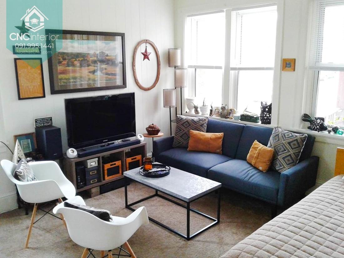 Sofa phòng khách chung cư 1