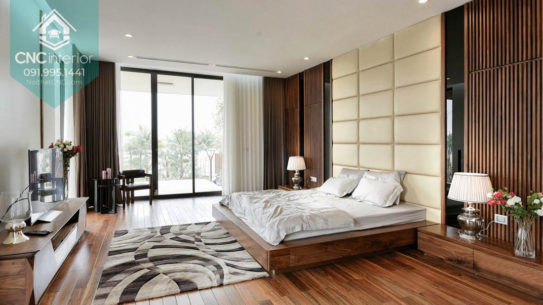 Phòng ngủ gỗ óc chó 10