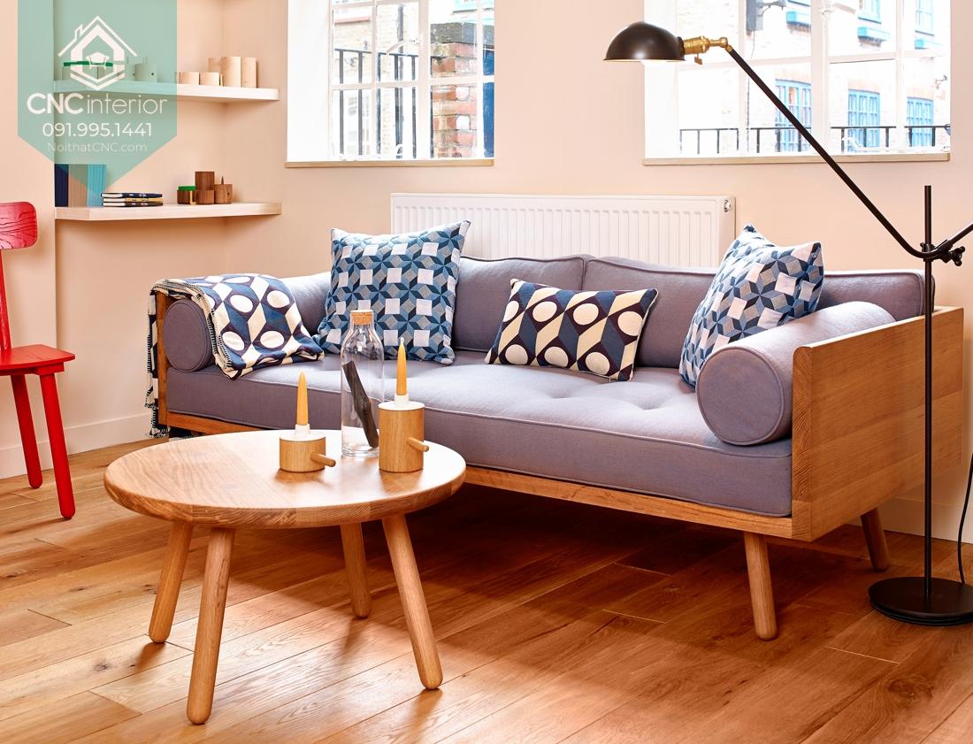 Sofa cho phòng khách chung cư 2