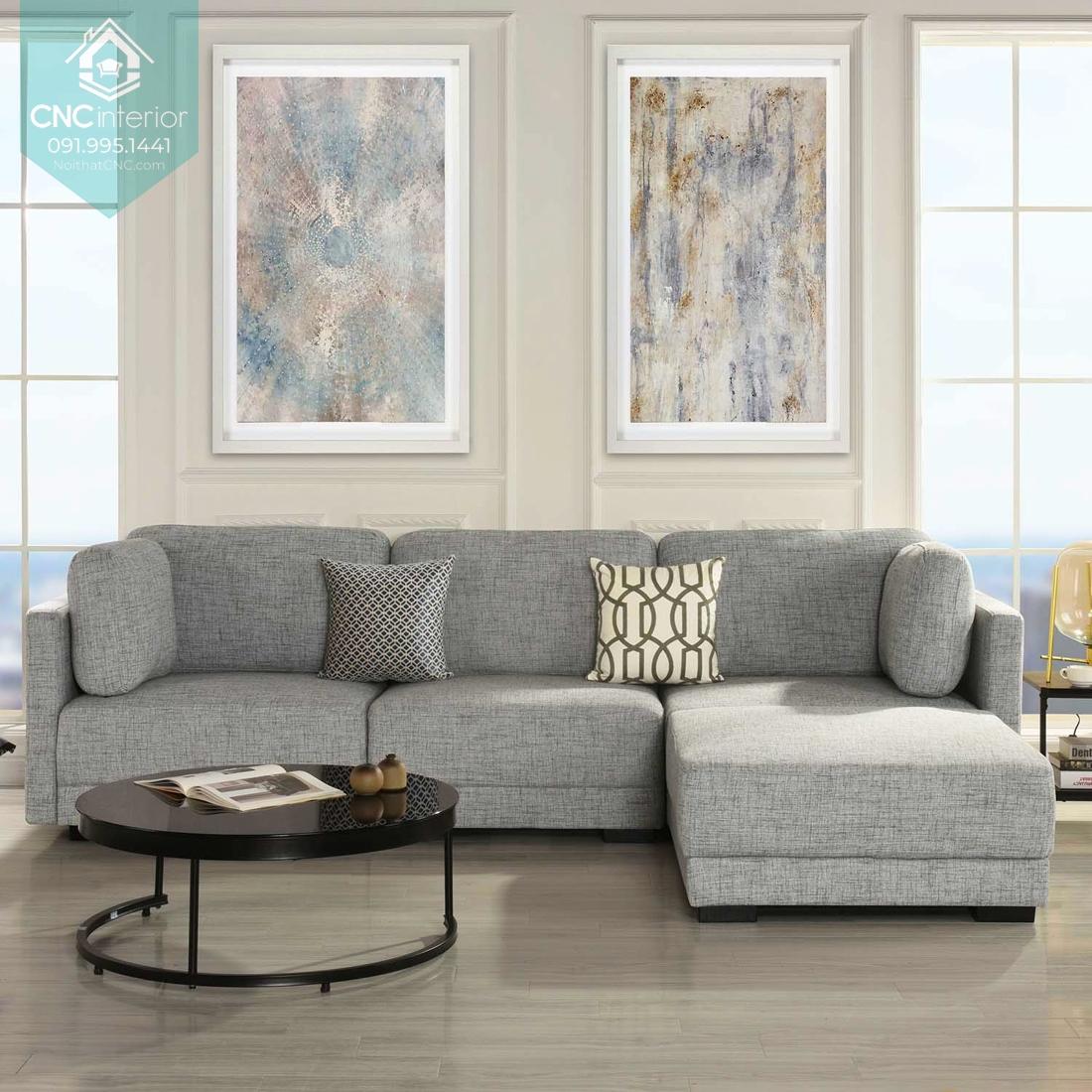 Sofa cho phòng khách chung cư 3
