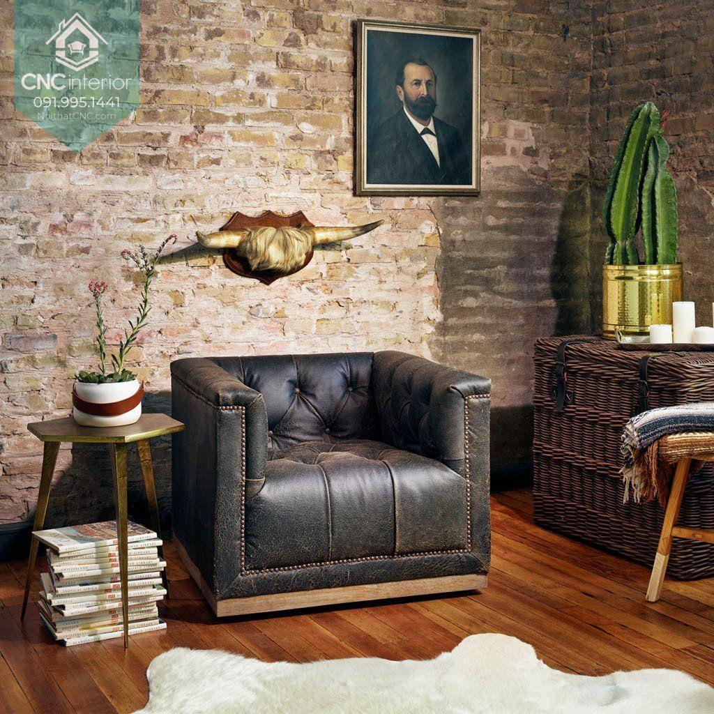 Sofa phòng khách chung cư 4