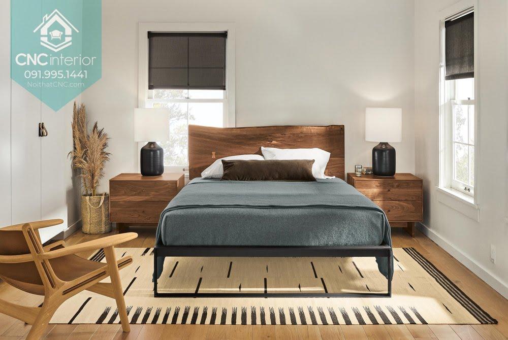 Phòng ngủ gỗ óc chó 3