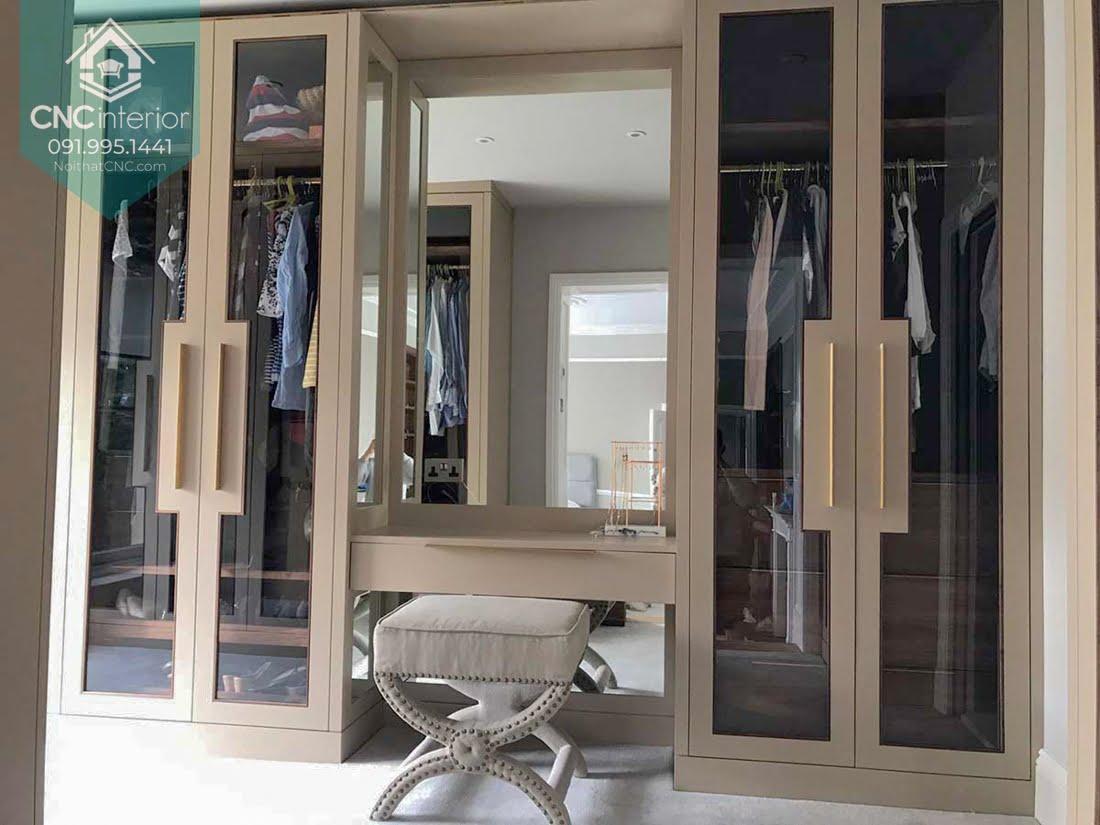Tủ quần áo kết hợp bàn trang điểm 4