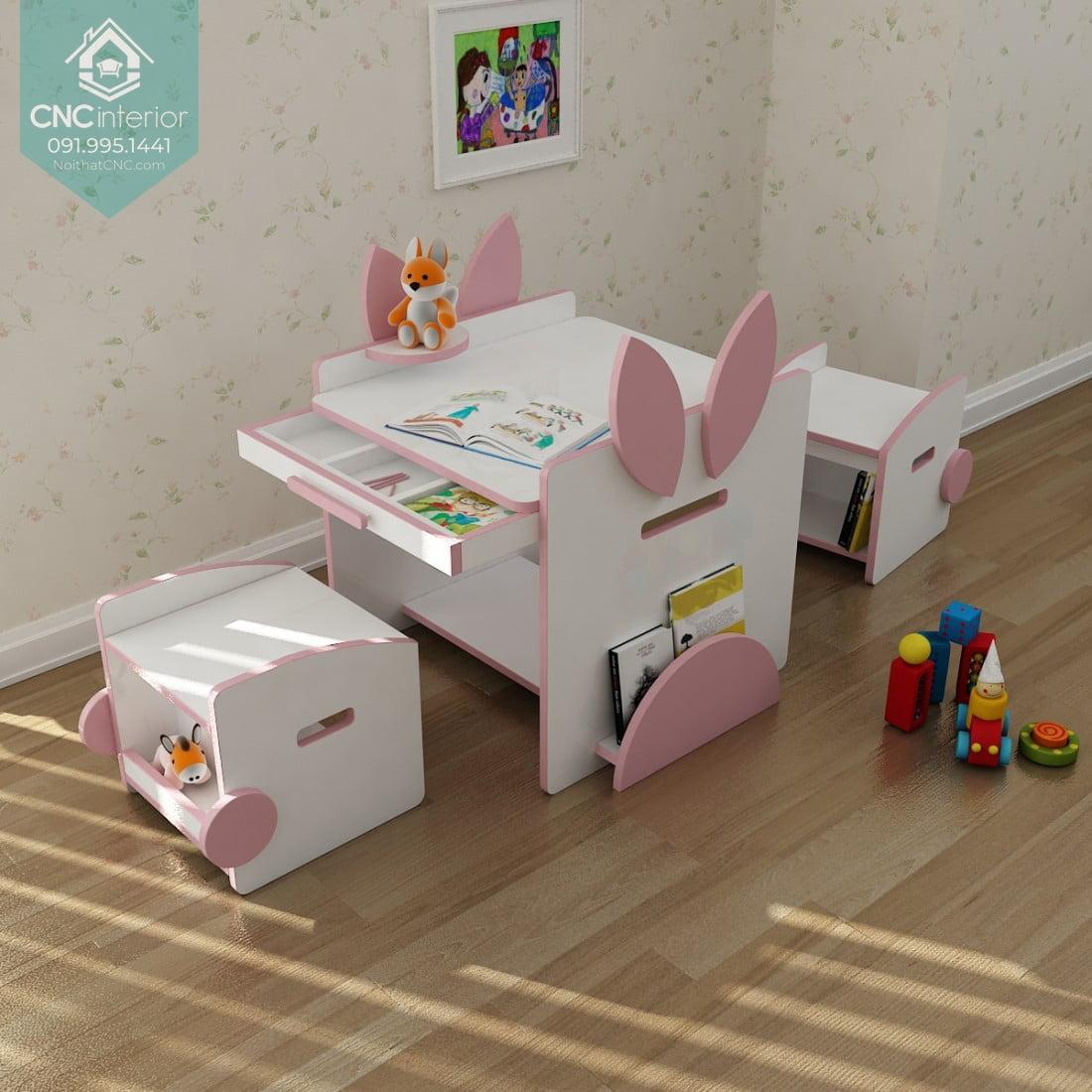 Kích thước bàn học trẻ em 8