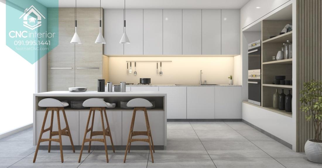 Các kiểu trang trí phòng bếp 5