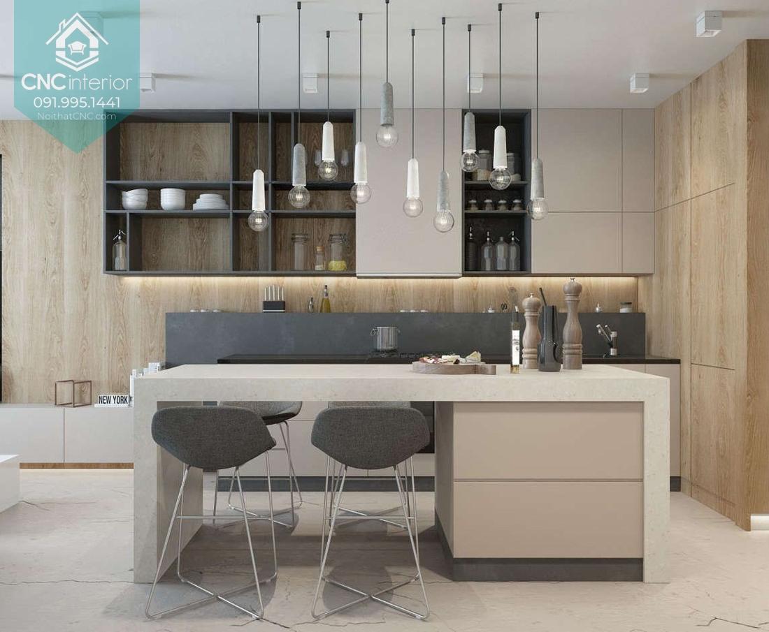 Các kiểu trang trí phòng bếp 3