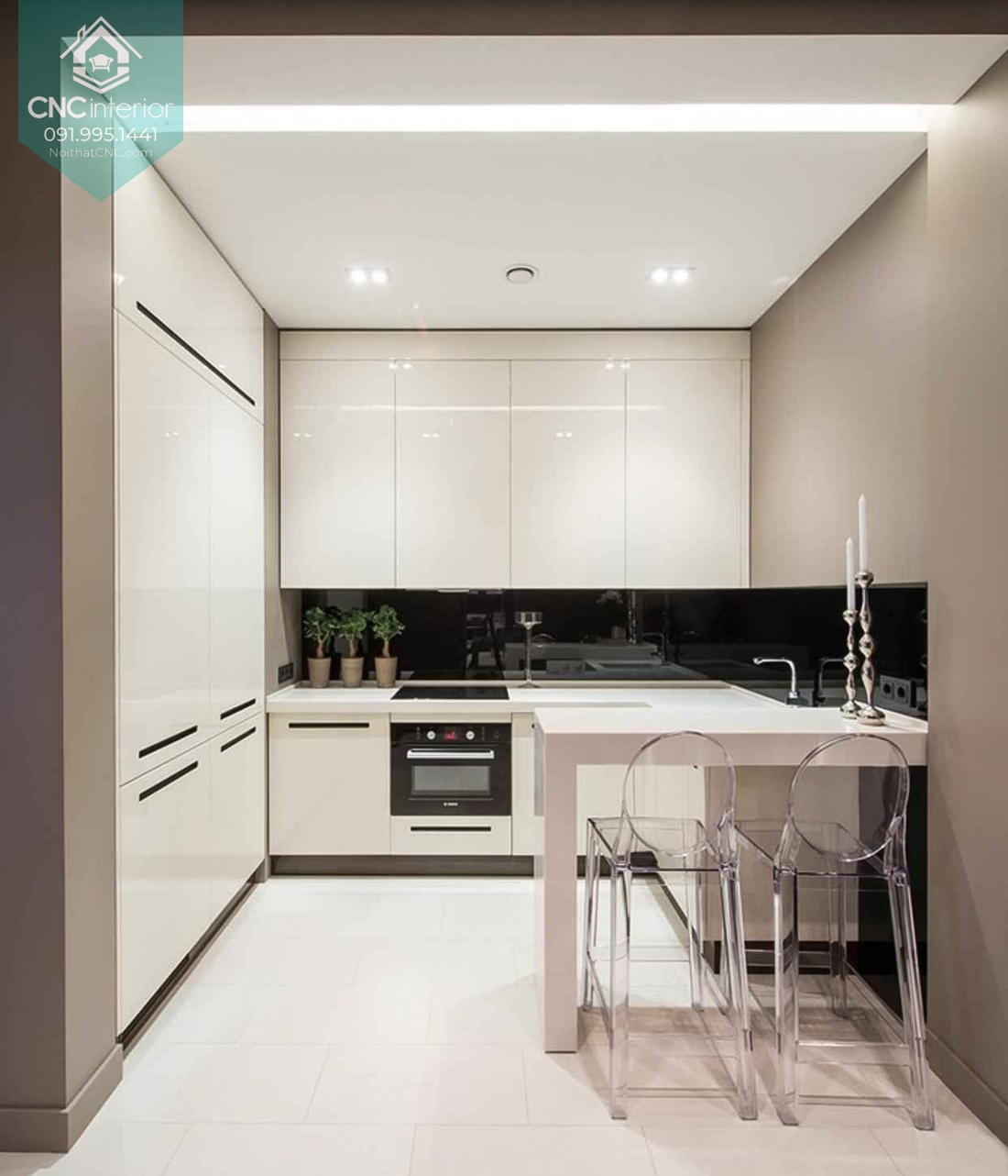 Các kiểu trang trí phòng bếp 4