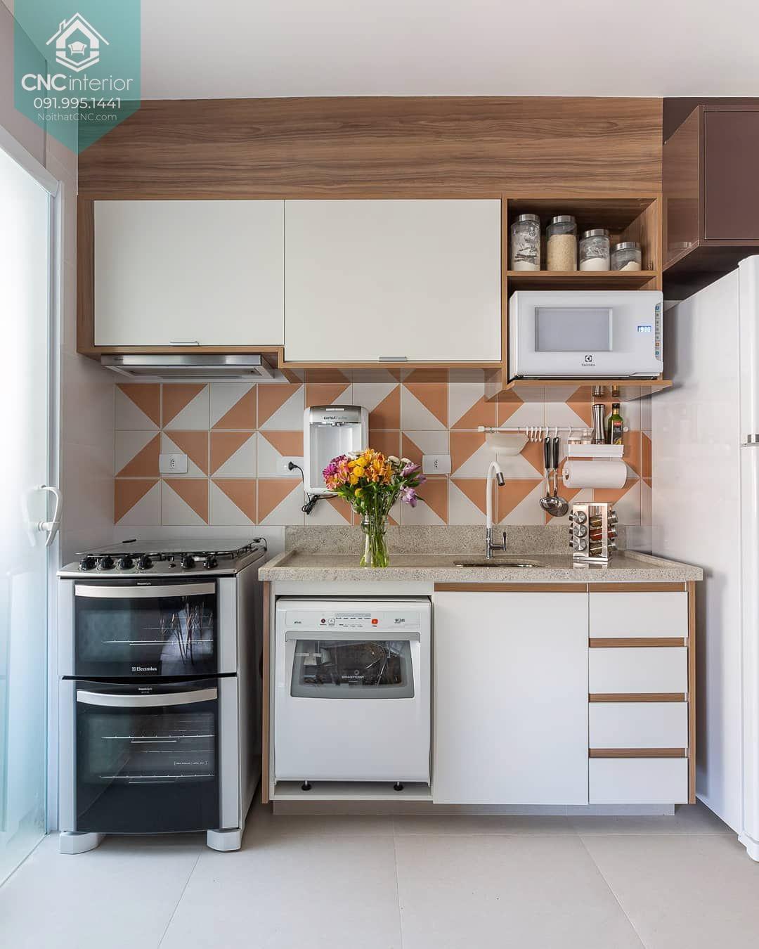Phòng bếp nhỏ đẹp 5